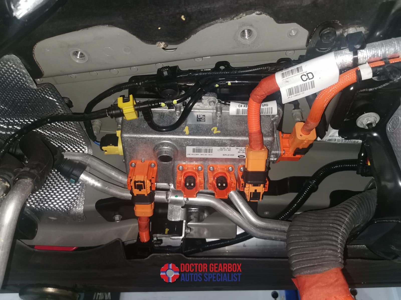 Repair of Hybrid Transmission for Range Rover