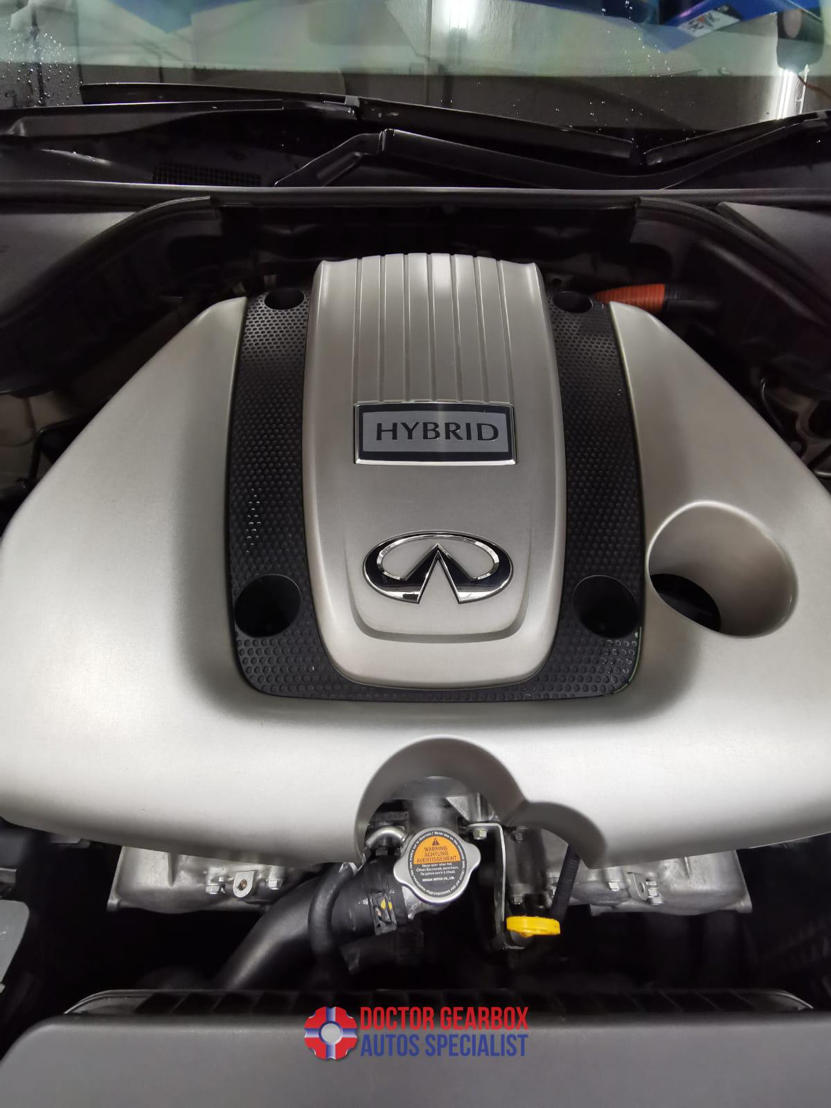 Overhauling of Infiniti Q50 Hybrid Gearbox